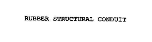 RUBBER STRUCTURAL CONDUIT