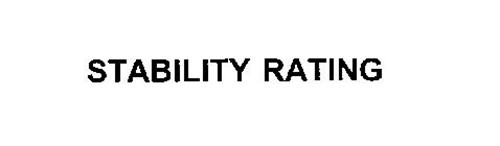 STABILITY RATING