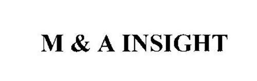 M & A INSIGHT