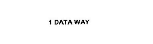 1 DATA WAY