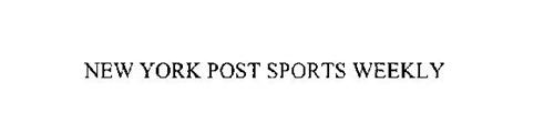 NEW YORK POST SPORTS WEEKLY