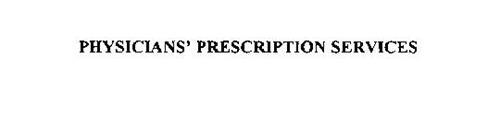 PHYSICIANS' PRESCRIPTION SERVICES