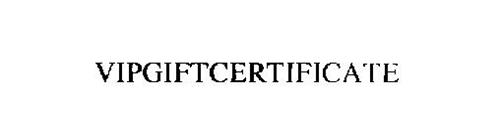 VIPGIFTCERTIFICATE