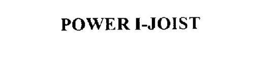 POWER I-JOIST