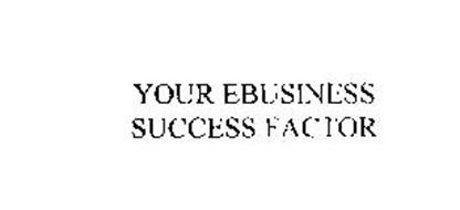 YOUR EBUSINESS SUCCESS FACTOR