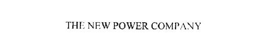 THE NEW POWER COMPANY