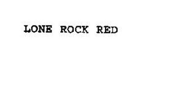LONE ROCK RED