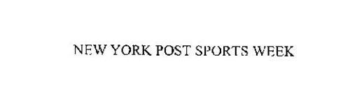 NEW YORK POST SPORTS WEEK