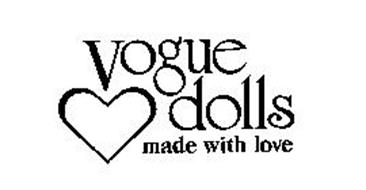 VOGUE DOLLS MADE WITH LOVE