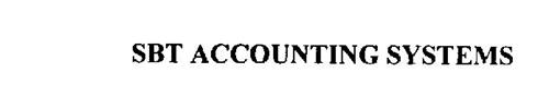 SBT ACCOUNTING SYSTEMS