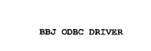 BBJ ODBC DRIVER