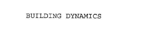 BUILDING DYNAMICS