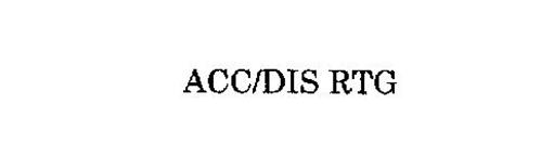 ACC/DIS RATING