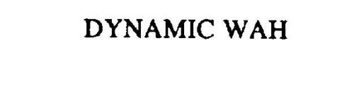 DYNAMIC WAH