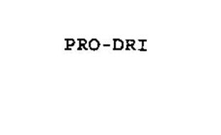 PRO-DRI