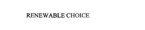 RENEWABLE CHOICE