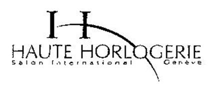 H HAUTE HORLOGERIE SALON INTERNATIONAL GENEVE