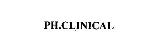 PH.CLINICAL