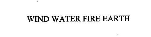 WIND WATER FIRE EARTH