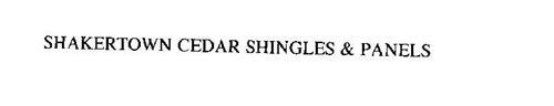 SHAKERTOWN CEDAR SHINGLES & PANELS