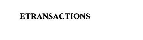 ETRANSACTIONS