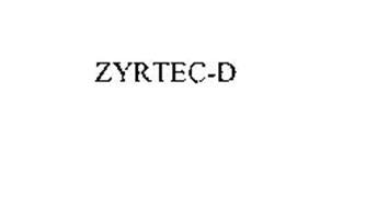 ZYRTEC-D
