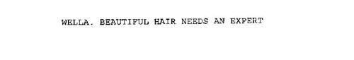 WELLA. BEAUTIFUL HAIR NEEDS AN EXPERT