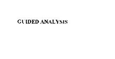 GUIDED ANALYSIS