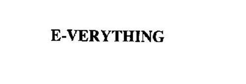 E-VERYTHING