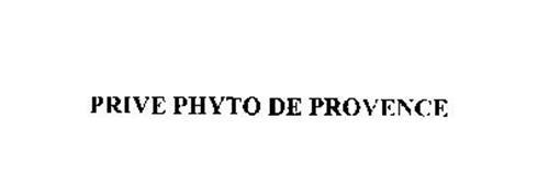 PRIVE PHYTO DE PROVENCE