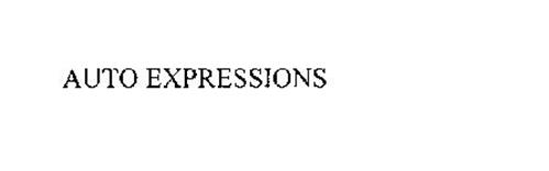 AUTO EXPRESSIONS