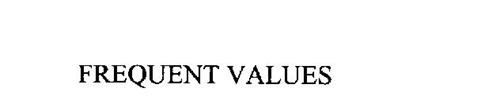 FREQUENT VALUES