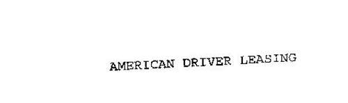AMERICAN DRIVER LEASING