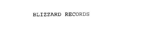 BLIZZARD RECORDS