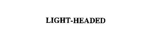 LIGHT-HEADED