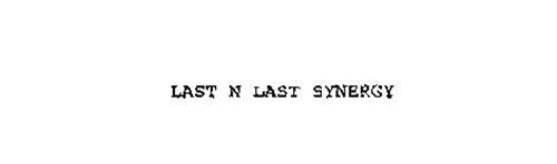 LAST N LAST SYNERGY