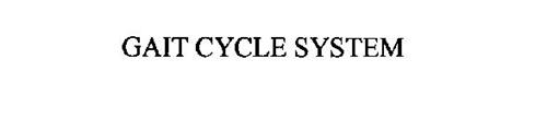 GAIT CYCLE SYSTEM