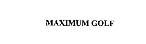 MAXIMUM GOLF