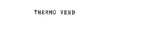 THERMO VEND