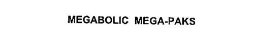 MEGABOLIC MEGA-PAKS