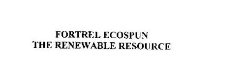 FORTREL ECOSPUN THE RENEWABLE RESOURCE