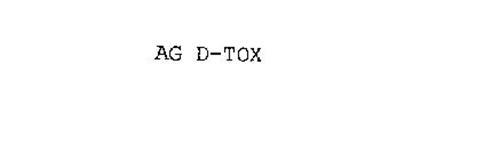AG D-TOX