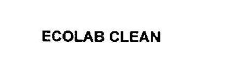 ECOLAB CLEAN