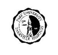 PARK UNIVERSITY PARKVILLE MISSOURI FIDES ET LABOR 1875