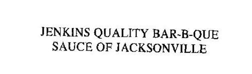 JENKINS QUALITY BAR-B-QUE SAUCE OF JACKSONVILLE