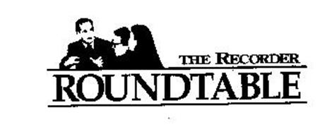 THE RECORDER ROUNDTABLE