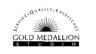 GOLD MEDALLION STUDIO SERVICE QUALITY EXCELLENCE
