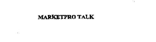 MARKETPRO TALK