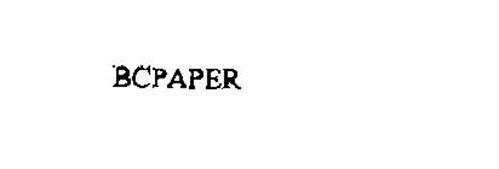 BCPAPER