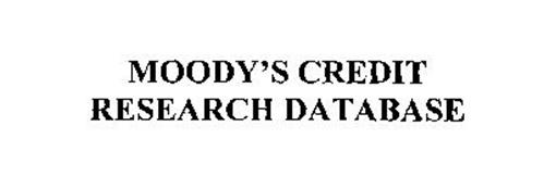 MOODY'S CREDIT RESEARCH DATABASE